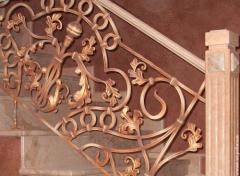 Ограждения для балконов кованые, перильные