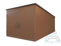 Garages from a metalwork. Garage 01
