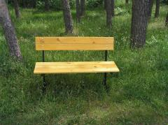 Benches park and garden ANTI-RECESSIONARY 2-3-4-h