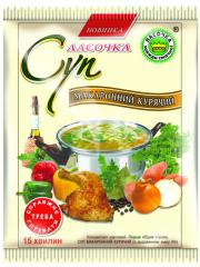 Soup in package 60 gr. Macaroni chicken