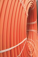 Pipe polyethylene protective for the optical cable