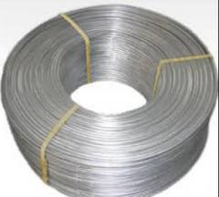 Aluminum rod iron of GOST 13843-78