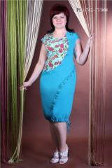 Летнее платье батал PL1-742