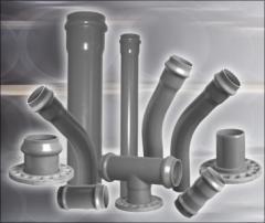 Трубы ПВХ для водопроводных и канализационных