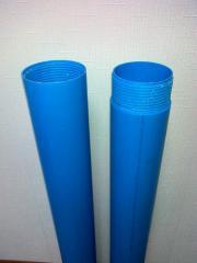 Обсадная труба ПП R10 125*7.4 3(5)м для скважины