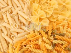 Macaroni: horns, feathers, vermicelli