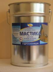 Mastic bitumno butyl rubber cold