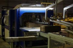 The equipment for production, formation and gluing