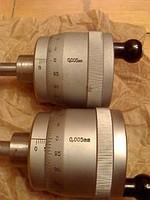 Heads micrometric GLM-502 0-50 microns