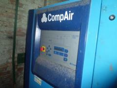 Compressor of screw air 6 m3 10th bar CompAir