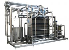 Pasteurization and cooling A1 OK2L installation 5