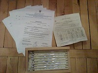 Термометры лабораторные ТЛ-6 ТУ 25-2021.003-88 (-30+360 С) поверены в УкрЦСМ