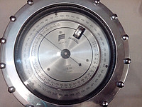 The aneroid barometer control M-110 checking in
