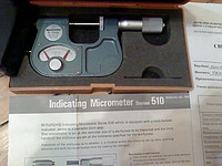 Микрометр рычажный Mitutoyo 510-101(аналог МР 0-25 ГОСТ 4381-87) атестован в УкрЦСМ 2013