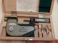 Микрометр рычажный (аналог МР 25-50 ГОСТ 4381-87) поверен в УкрЦСМ 2013