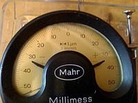 Индикатор фиксирующий стрелочный (ц. д. 1 мкм) модель 1003 Арт. 4334000 Mahr