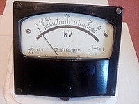 Kilovoltmeter panel board C75 of GOST 13216-74