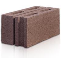 Забор из бетонных блоков - Блок пустотный