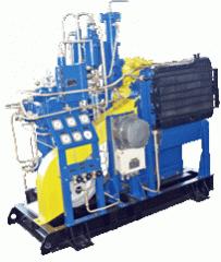 Агрегат компрессорный ГТ0,8-0,25/41С для сжатия