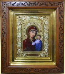 Иконы из сусального золота №23 - Казанская Божья