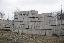 Блоки фундаментные бетонные ФБС