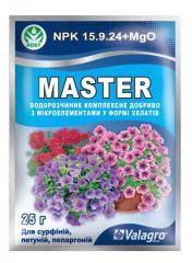 Комплексное удобрение Master(Мастер), 25гр, для