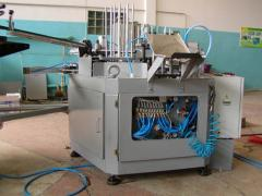 Automatic packaging transfer line of the rotor