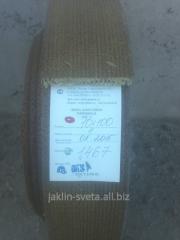 Лента асбестовая тормозная тканая марки ЛАТ-2 ГОСТ