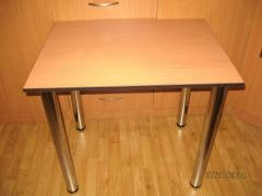 Table kitchen new with the sharp ends, with