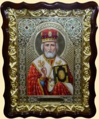 Icon No. 1 - Nikolay Ugodnik (winter)