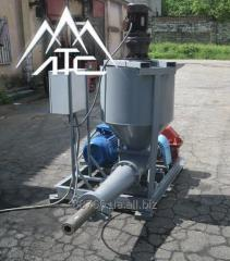 Equipment for production of fuel briquettes