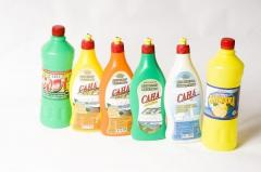 Goods of the TM household chemicals Sana'a: a