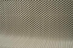 Cellular acoustic foam rubber wave