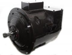 The traction DTRN 45/27 electric motor for contact miner electric locomotives