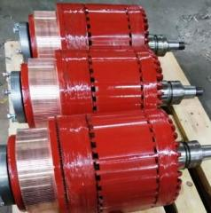 Anchor to traction electric motors
