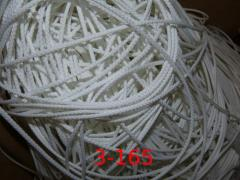 Cord of 3 mm polyester with a filler