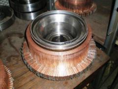 Коллектор к электродвигателям рудничным тяговым серий ДРТВ и ДТРН