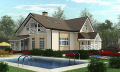 Ready projects of cottages