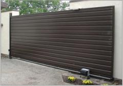 Retractable gate from the producer of Ukraine