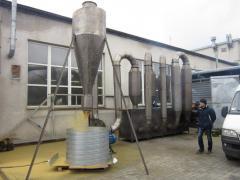 Drying of spirit distillery dregs tm Faure Zakhid