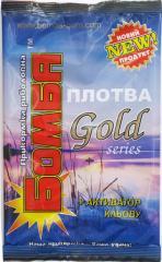"Прикормка ""Бомба"" Плотва Gold 0,9 кг."