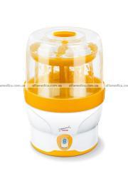 Digital steam sterilizer for small bottles of