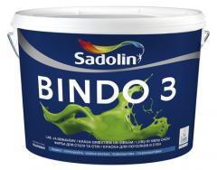 Садолин  в/ємульс. латексн.матов.BINDO 3   2,5л