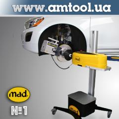 Cutting machine for brake discs, MAD Holland
