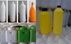 Container plastic blown barrels 30л/бутылки/лейки