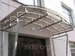 Safety bent glass (red-hot)