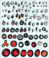 Wheels for the industrial equipmen