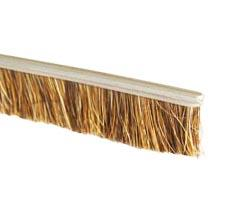 Natural horsehair brush without holder, for doors