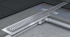 ACO Shower Drain C-line the shower channel with a