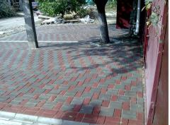 Curbs are sidewalk